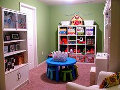 Toy room ideas!