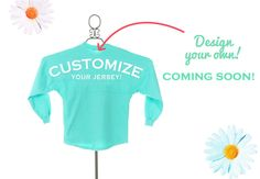 Design Your Own Spirit Jersey coming soon!