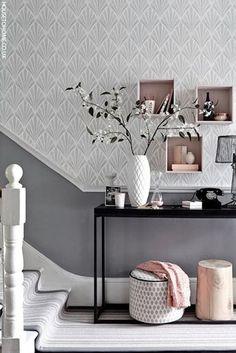 grau und pastell