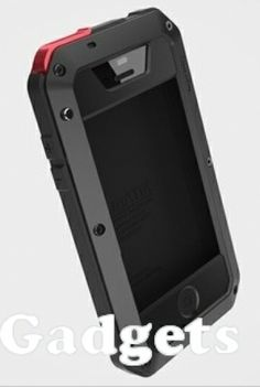 Lunatik Metal + Silicone Extreme Hard Case with Gorilla Glass for iPhone 5 - Black  -Shockproof -Gorilla Glass -Anti penyok, debu, dan pecah  Cara memesan via SMS/WhatsApp ke 08111279777