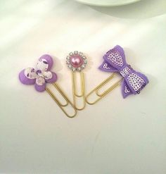 Check out this item in my Etsy shop Paper clip,Planner supplies,  spring ,butterfly ,stationery  ,erin condren, Filofax ,lilac , purple ,planner clip https://www.etsy.com/uk/listing/286965911/lilac-butterfly-planner-clip-set