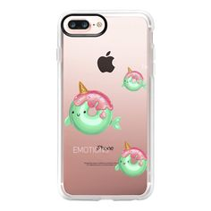 Unicorn donuts - iPhone 7 Plus Case And Cover (275 BOB) ❤ liked on Polyvore featuring accessories, tech accessories, iphone case, iphone cover case, apple iphone case, clear iphone case, iphone cases and unicorn iphone case