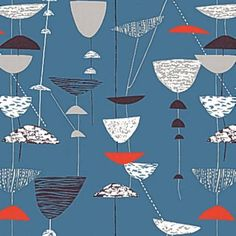 Lucienne Day's Calyx fabric