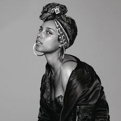Alicia Keys In Common-WEB-2016-HB I'm so grateful for the celebrities who are using their platform to show off their true beauty and what people really look like without makeup and or retouching photos