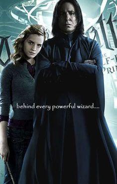 Powerful Wizard - Hermione & Severus Fan Art (16809669) - Fanpop