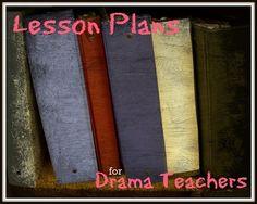 Lesson #Plans for Drama Teachers