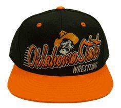 276e3f271b6 Oklahoma State Wrestling Flat bill Snapback