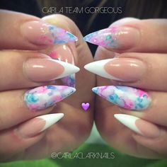 Sharpie nails! Like Comment Share Tag Get Notifications #nails #nailart #nailedit #nailgame #naillife #nailswag #notpolish #instanails #naillove #nailstagram #nailsofinstagram #nailsoftheday #acrylics #acrylicnails #nailsonpoint #nailsonfleek #passion #love #valentinesnails #valentinesnailsdesign #carlaclarknails #smileline #glitter #smilelinequeen #showscratch by carlaclarknails