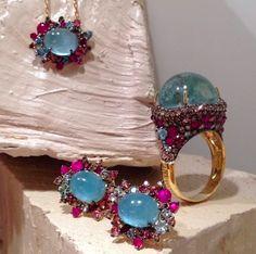 Detalhes das jóias da Brumani