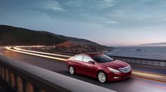 2013 SONATA LIMITED IN SPARKLING RUBY