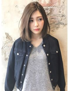 Top 36 Short Blonde Hair Ideas for a Chic Look in 2019 Top 36 Short Blonde Hair Ideas for a Chic Look in 2019 Medium Hair Cuts, Short Hair Cuts, Medium Hair Styles, Long Hair Styles, Korean Short Hair Bob, Korean Hair Medium, Asian Haircut Short, Korean Short Hairstyle, Korean Haircut