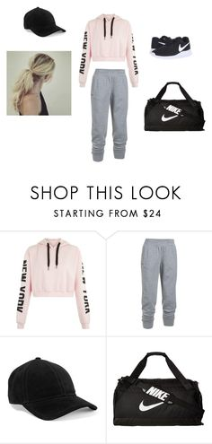 """Work it"" by fiffan08 on Polyvore featuring Under Armour, rag & bone and NIKE"