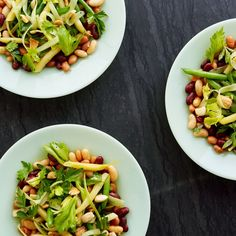 Five-Bean Salad With Smoked Paprika Vinaigrette-for the dressing