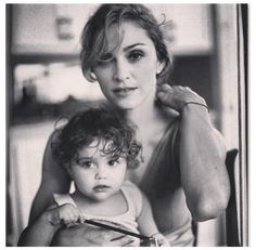 Madonna and her daughter Lourdes #GotItFromMyMama