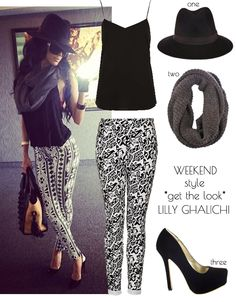 Weekend Style: Lilly Ghalichi featuring Prima donna accessories