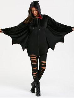 GET $50 NOW | Join RoseGal: Get YOUR $50 NOW!https://m.rosegal.com/sweatshirts-hoodies/halloween-bat-wing-wave-cut-1319563.html?seid=acg4egcut970117i4iek9ti6a1rg1319563