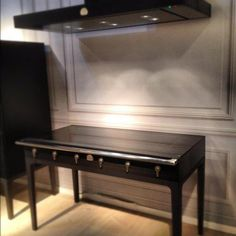 La Cornue's induction range.  Holy crap, this is gorgeous.  amazing kitchens with get designed around this product.