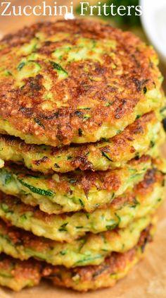 Zuchinni Recipes, Vegan Zucchini, Zucchini Parmesan, Vegetable Recipes, Vegetarian Recipes, Cooking Recipes, Healthy Recipes, Keto Recipes, Bariatric Recipes