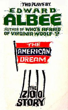 """""""The American Dream"""" and """"The Zoo Story"""" by Edward Albee"""