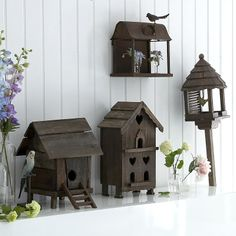 Collection of birdhouses, That Little Devil On My Shoulder