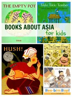 Books About Asia For Kids.  From No Time for Flash Cards.  Wish there was a book…