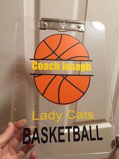 Custom basketball keychain thank you coach personalized with basketball coach gift personalized volleyball by artsywallsandmore negle Choice Image
