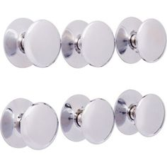 Premium Victorian Knob Chrome 32mm - Pack of 6 at Homebase -- Be inspired and make your house a home. Buy now.