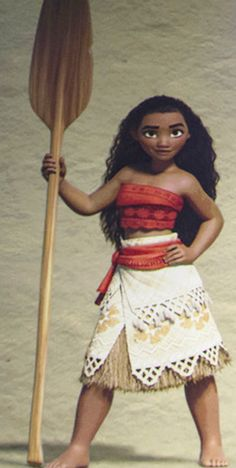 Get the Official First Look at Moana, the Newest Disney Princess