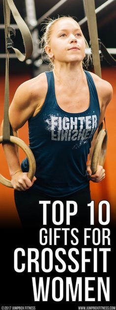 Our top gift picks for the crossfit woman. Top selling, top rated fitness tank tops and hoodies for women who love living healthy and fit. Best gym clothing.