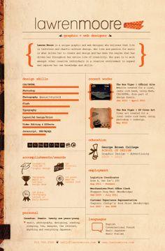 Resume by drag-my-soul.deviantart.com