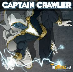 10 Marvel DC Superhero Mashups-Captain Crawler  Does this remind anyone of the Assassins from Assassin's Creed?