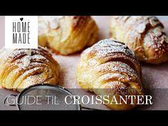 Franske croissanter med mørk chokolade | Magasinet Mad!