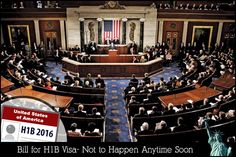 Bill for H1B Visa - Not to Happen Any Time Soon
