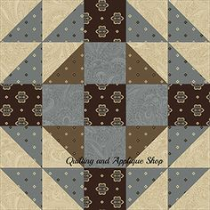 Princeton Serenity Block from Quilting and Applique Shop
