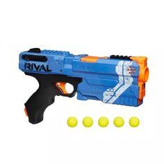 Nerf Rival Kronos Bleu et Billes en Mousse Nerf Rival Officielles Nerf Mod, Pistola Nerf, Ranger, Cool Nerf Guns, Mousse, Toys R Us Canada, Tactical Vest, Audio, Outdoor Toys