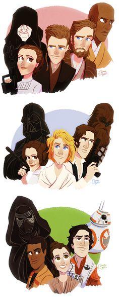 I love Star Wars.