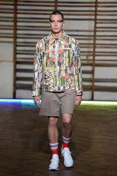 Gosha Rubchinskiy Spring 2016 Menswear - Collection - Gallery - Style.com