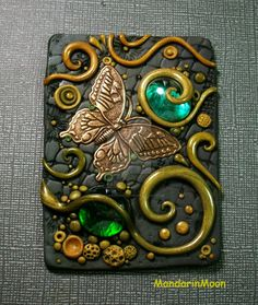 Olive Garden ACEO with Butterfly by MandarinMoon on DeviantArt