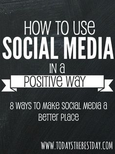How YOU can make a positive difference on social media! Social Media Negative, Social Media Tips, Online Marketing, Social Media Marketing, Social Behavior, Positive Behavior, It Goes On, Relief Society, Blog Tips