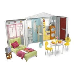 Image detail for -Mattel Barbie Forever Barbie Totally Real House Playset - Product ...