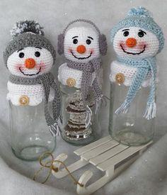 Toen onze oudste dochter de kerst/winter potjes van Klaske zag vroeg ze gelijk: 'kan jij dat ook maken mam?' Ja natuurlijk kan ik dat ;) I...