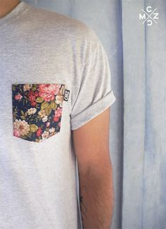 how sweet, a floral pocket