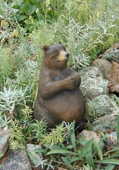 Bearly Buddhist Bear In Mind To Stick With Love As Hate And