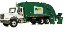 Garbage trucks that come to your house, so you do not have to carry it out to the main street when the music sounds!!