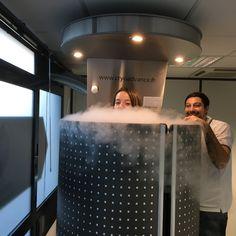La cryothérapie ou traitement par le froid est très bénéfique notamment pour les sportifs. J'ai testé et vous raconte mon expérience!