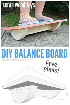 Ted's Woodworking Plans - Thats My Letter: Balance Board with free plans Get A Lifetime Of Project Ideas & Inspiration! Step By Step Woodworking Plans Wood Projects For Kids, Woodworking Projects For Kids, Woodworking Tips, Diy Projects, Project Ideas, Woodworking Furniture, Popular Woodworking, Woodworking Equipment, Woodworking Magazine