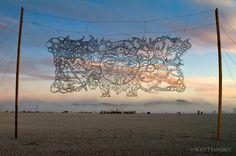 Burning Man : Photography by Scott London | Cuded