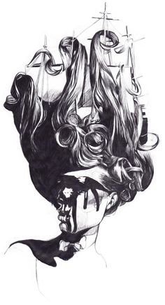 Pencil Illustrations by Dasha Pliska (16)