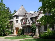 Timeless Tudor Estate - traditional - Exterior - Minneapolis - Bruce Kading Interior Design