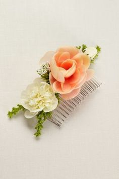 Flower Comb at David's Bridal